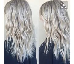blonde hair with silver highlights 18 best look book cool blondes images on pinterest silver hair