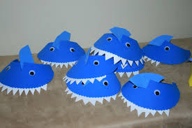 kids shark craft ideas for shark week s u0026s blog