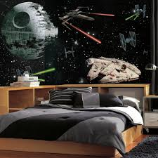 roommates 72 in w x 126 in h star wars vehicles xl chair rail 7 h star wars vehicles xl chair rail 7 panel prepasted wall mural jl1399m the home depot