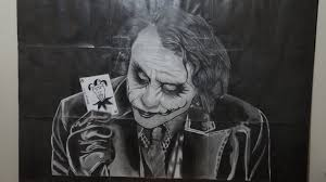joker pencil drawing by serifeksi on deviantart