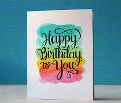 happy birthday card via happy hands project cards pinterest