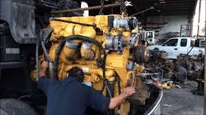 cat c15 engine swap in a peterbilt truck youtube