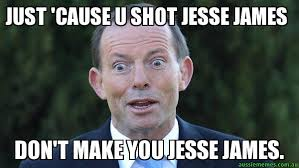 James Meme - just cause u shot jesse james don t make you jesse james tonny
