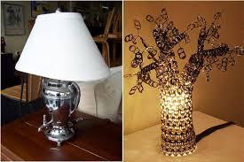 Unique Table Lamps Unique Table Lamps Turning Trash Into Treasure Cutedecision