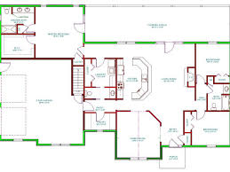 square house floor plans download three bedroom square house floor plans 1800 sq ft 2 car