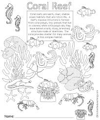 coloring pages of animals in their habitats ocean plants coloring pages adults coral colors coral reef