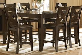 36 dining room table homelegance crown point counter height table in merlot 1372 36 by