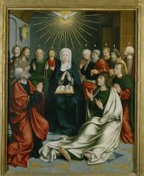 pentecost with mary queen of apostles catholic culture