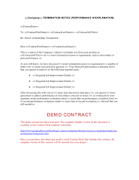samples of termination letters to employee marketing cover letter
