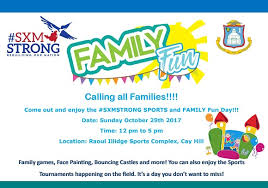 sxm strong sports and family day