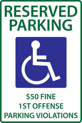 parking and traffic signs zing green products