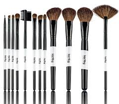 amazon com professional studio quality 12 piece natural cosmetic