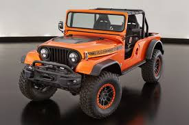 offroad jeep cj jeep and mopar reveal 7 new off road concept vehicles previews