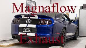magnaflow vs flowmaster mustang 2014 shelby gt500 magnaflow vs stock axle back