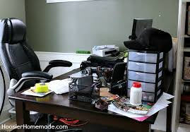 Office Desk Organization Tips Budget Friendly Tips On Organizing Your Home Office Hoosier