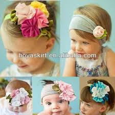 girl hair accessories baby soft hair band infant children tire vintage style headdress
