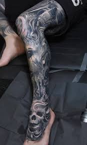 outstanding and cool thigh and calf cover up with awesome face