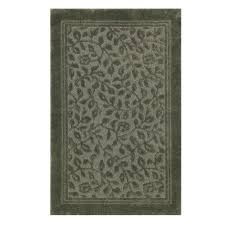 Mohawk Bathroom Rugs Mohawk Wellington 5 Ft X 7 Ft Bath Rug In Green