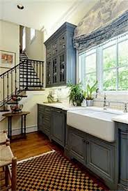 Painting Existing Kitchen Cabinets Bright And Blue What Do You Think It Would Match Your Stove