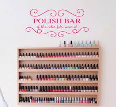 nail salon window decal promotion shop for promotional nail salon