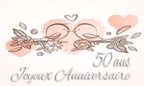33 ans de mariage carte anniversaire mariage 50 ans branche oiseau