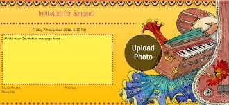 mehndi card free sangeet mehndi ceremony invitation card online