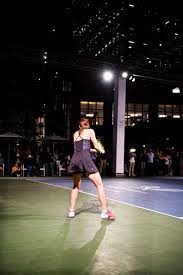 martina hingis u0026 anastasia rodionova during bpny tennis open at