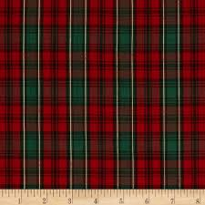 imperial tartan golden anniversary plaid red green from