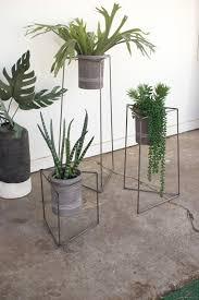 triangle modern planter stand set modern furniture u2022 brickell