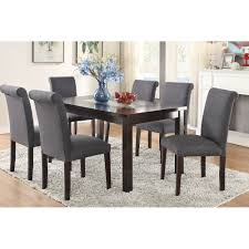 gray dining chair set of 2
