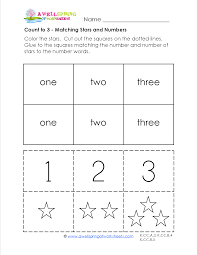 count to 3 these 10 worksheets start at the very beginning