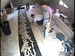 lapse wood floor installation