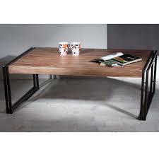 Wohnzimmertisch Metallgestell Couch Tisch India Aus Sheesham Massivholz Pharao24 De