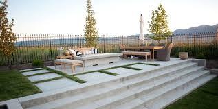 astonishing ideas concrete backyard pleasing concrete patio