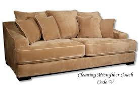 Leather Or Microfiber Sofa by Cleaning Micro Fiber Couches Code W Household Tidbits