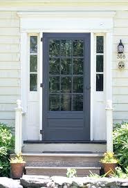 Colonial Exterior Doors Styles Of Front Doors Hermelin Me