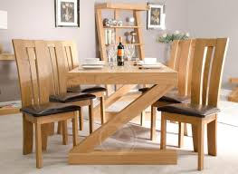 solid oak dining room sets good looking modern oak dining table 8 inspiring uk room the vidrian