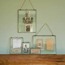 Zinc Glass Hanging Frame By All Things Brighton Beautiful