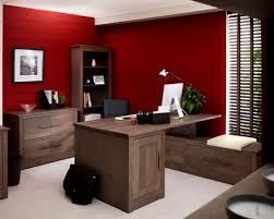 office wall design ideas red color wall design rift decorators