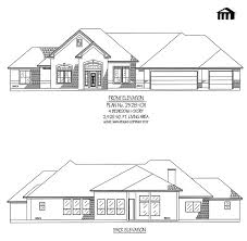 2 Master Suite House Plans Preferential 79 1 Story House Plans Also Home Single 1 Story House