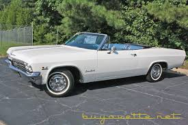 convertible for sale 1965 impala ss 396 325hp convertible for sale at buyavette