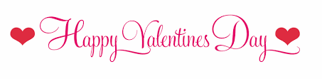 happy valentines day banner clipart