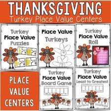 thanksgiving math centers by coffman s creative classroom tpt