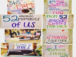 one year anniversary gift ideas best 25 1 year anniversary boyfriend ideas on one