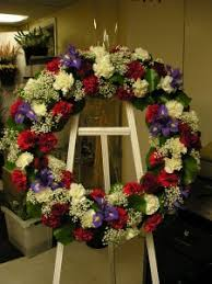 funeral flower fresh flower wreath funeral flowers in knoxville tn