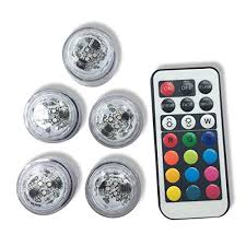 multi colored strobe light qicai h flameless led tea lights multi color option battery powered