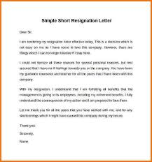 resignation letter sample resignation letter effective