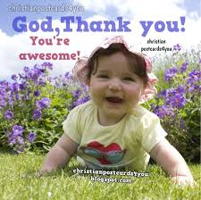 thank you god you re awesome christian cards for you