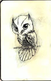 owl sketch by wansart on deviantart