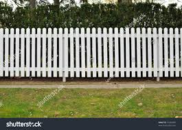 Picket Fences White Picket Fence Stock Photo 51683485 Shutterstock